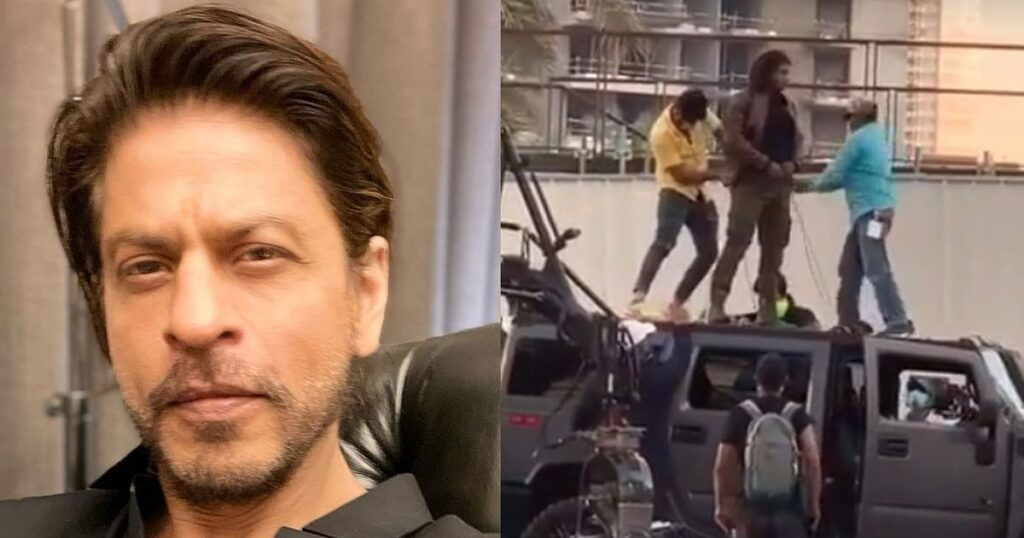Watch: Leaked video of 'Pathan' shows Shah Rukh Khan gearing