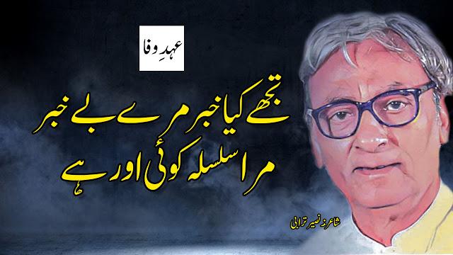 Tujhe Kya KHabar mere be-KHabar by Naseer Turabi Urdu Poetry || EhdeWafa