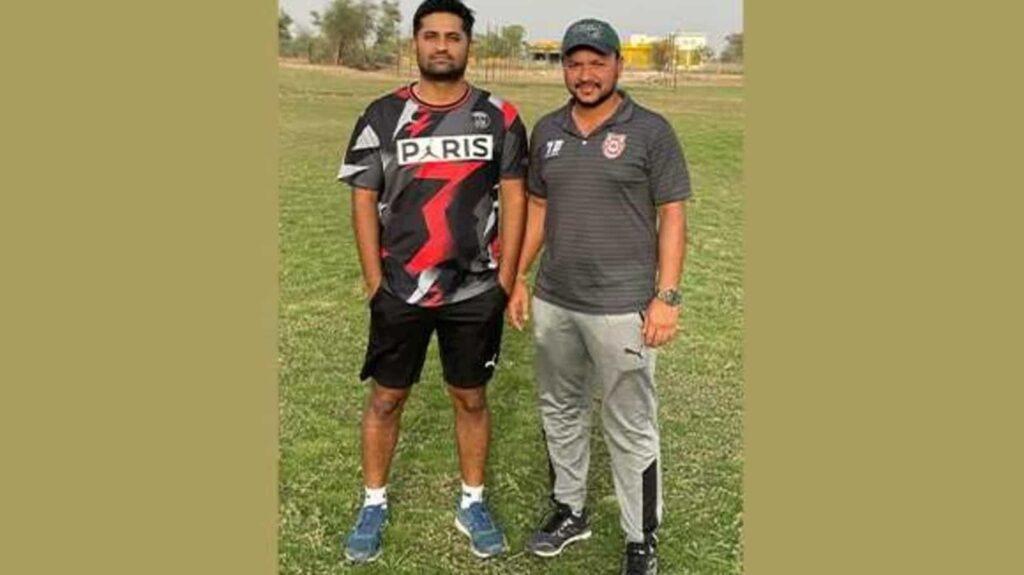 Pradyot Singh Rathore & Shahrukh Pathan launch Spartans Cricket Academy