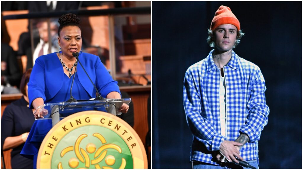 Bernice King Defends Justin Bieber Amid Backlash Over MLK Interlude on New Album 'Justice,' Social Media Critics Remain Dumbfounded