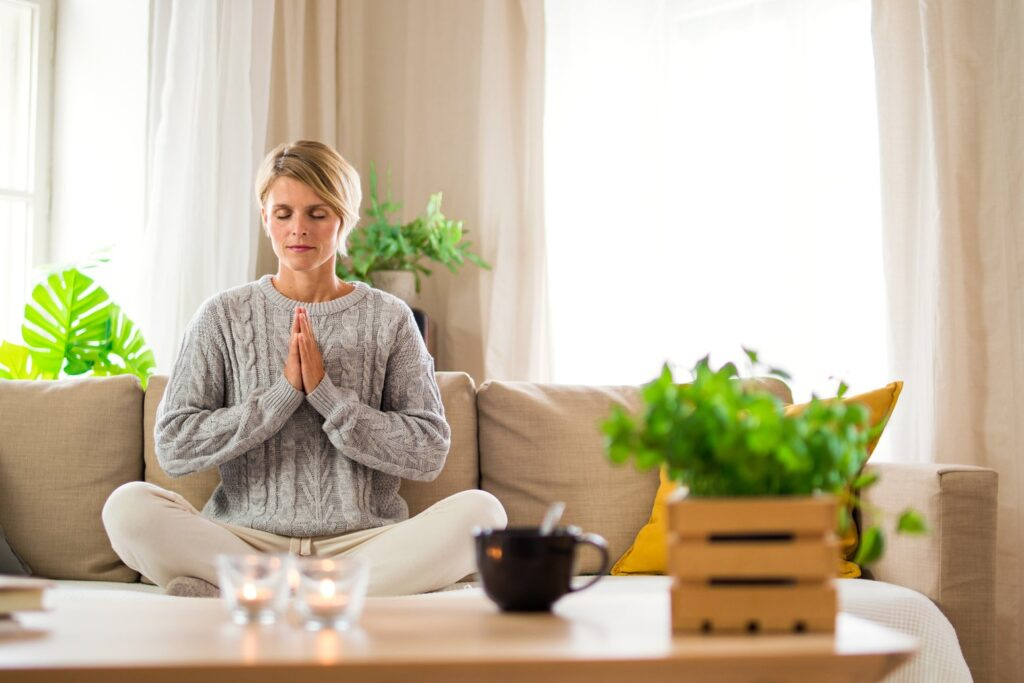 For better migraine treatment try Yoga